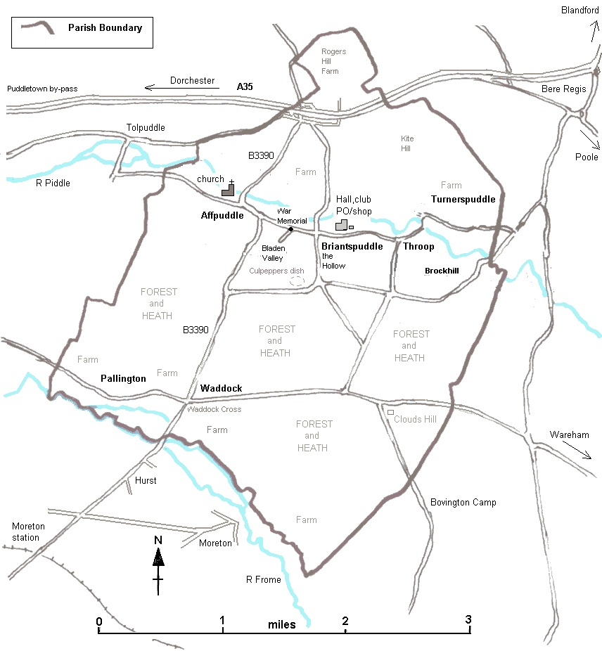Sketch Map of the Parish