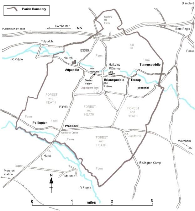 Map sketch Parish