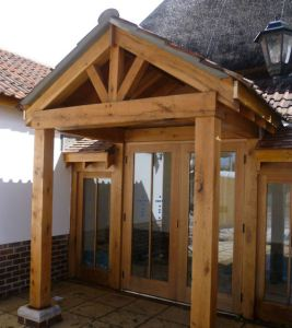 new village hall entrance