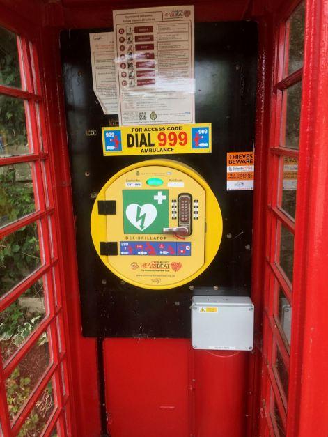 Affpuddle defibrillator