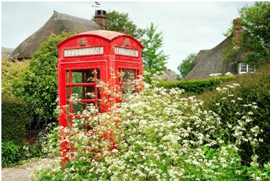 the original telephone box