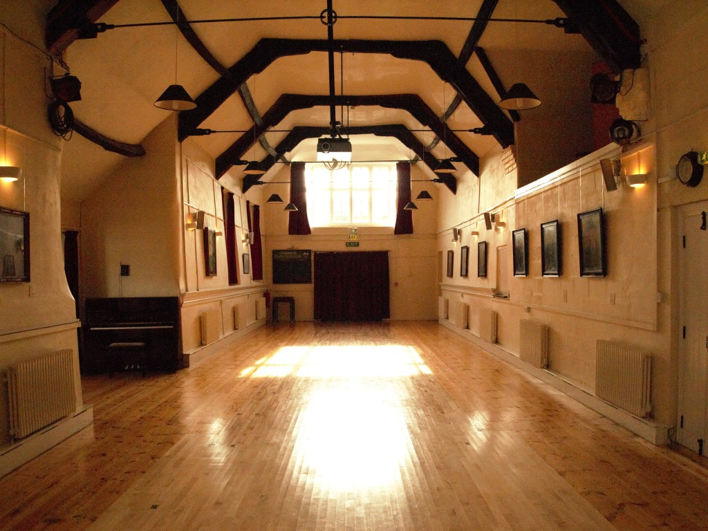 inside the hall
