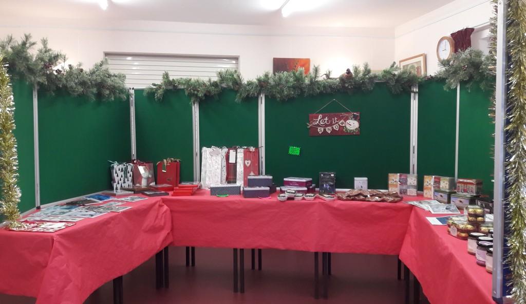 Shop Christmas display